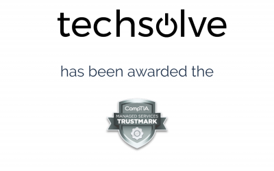 Techsolve Awarded with CompTIA Managed Services Trustmark