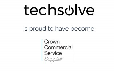 Techsolve is now a G-Cloud 11 Supplier for the Crown Commercial Service
