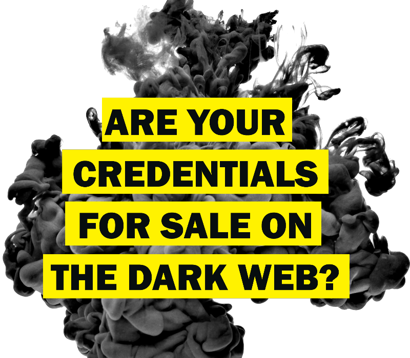 dark web monitoring credentials