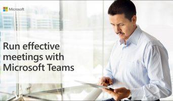 Run effective Microsoft Teams Meetings