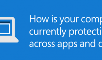 How is your company protecting data across apps and devices?